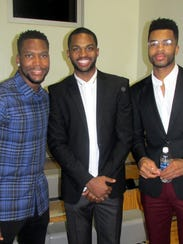 Memphis Grizzlies players at Staxtacular were, from