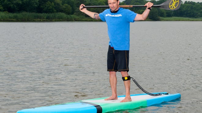 After recovering from a brain injury in 2007 and recovering with the help of Johns Hopkins Brain and Stroke Rehabilitation Program, Corey Davis founded The Ocean Games in 2014 to raise awareness and money for Johns Hopkins.