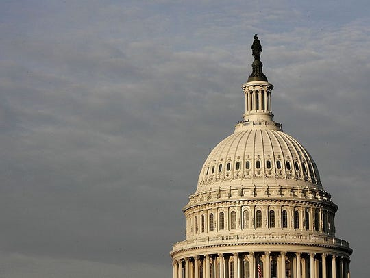 The U.S. Capitol is shown on November 6, 2006 in Washington,