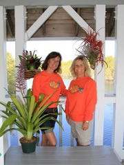 Betsy Ventura, left, and Jean Baer are co-owners of Local Roots.