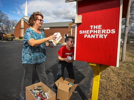 Outdoor Free Pantries Fill Hunger Need In Kentucky Communities