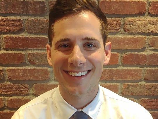 Matt Houck, 28, and optometrist from Iowa City will