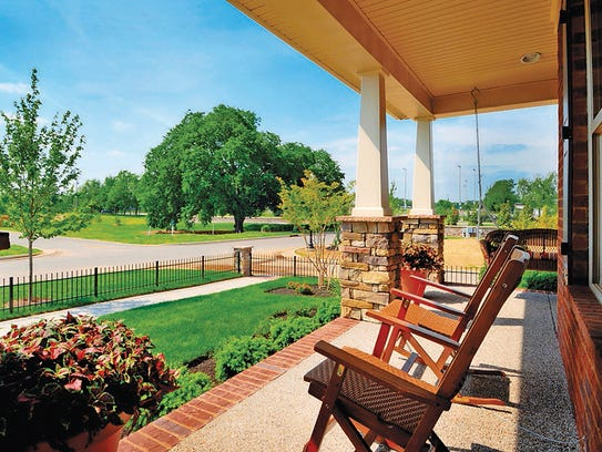 A Jones front porch is a great place to be outdoors