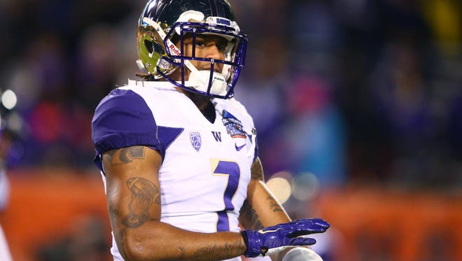 Former Washington Huskies linebacker Shaq Thompson says he's open to safety, but his heart is still at linebacker.