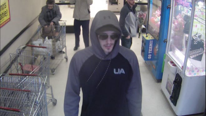 St. Cloud Police are seeking a suspect in a robbery incident at the TCF Bank inside Cashwise on the East Side of St. Cloud. Incident occured at about 11:30 a.m., Sunday, Jan. 28, 2018.