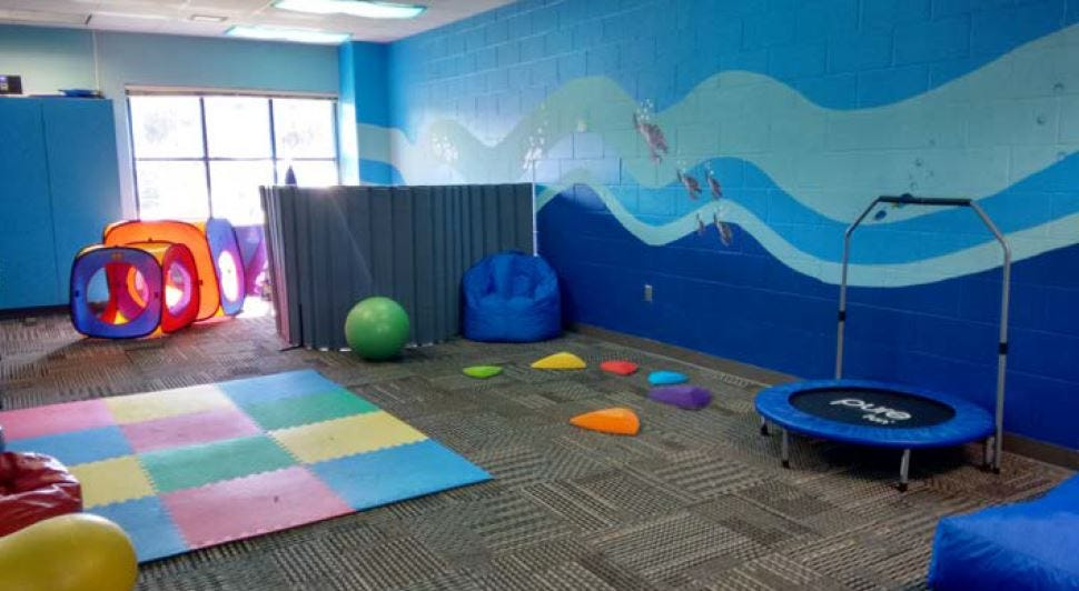 tropic isles gifted sensory room for kids with autism rh news press com Adult Sensory Room Ideas Autism Sensory Room