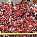 A crowd of 16,421 was on hand for the St. John?s/St. Thomas game at Clemens Stadium on Oct. 2, 2010.