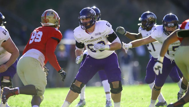Zach Weeks is one of 11 players from WNC on Western Carolina's football roster.