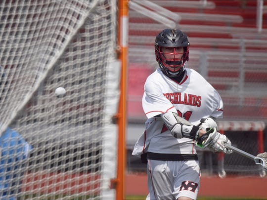 Northern Highlands # 21 Max Paparozzi Boys lacrosse: