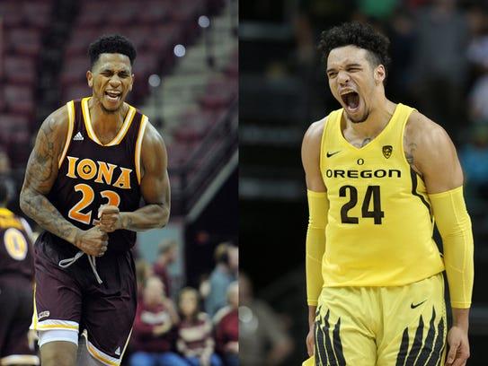 Jordan Washington and Dillon Brooks mirror each other's