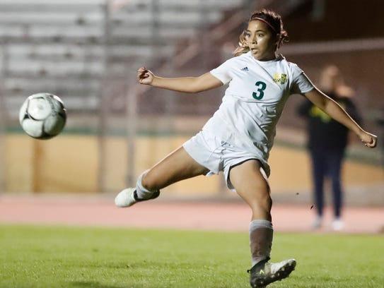 Coachella Valley High School's Mariah Godinez during
