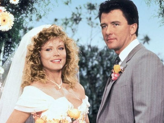 Sheree J Wilson and Patrick Duffy in Dallas publicity