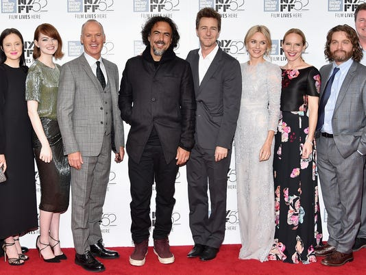 """Closing Night Gala Presentation Of """"Birdman Or The Unexpected Virtue Of Ignorance"""" - Arrivals - 52nd New York Film Festival"""