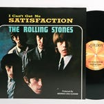 """""""(I Can't Get No) Satisfaction,"""" the Rolling Stones' iconic anthem of anger and frustration, hit No. 1 50 years ago this week. From left: Ronnie Wood, Mick Jagger, Charlie Watts and Keith Richards."""