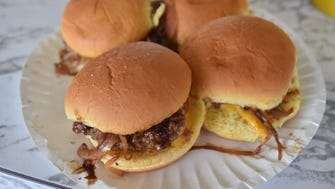 Sliders from White Manna in Hackensack.