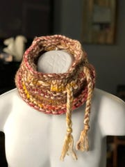 The Bushwick Convertible Hat as a cowl.