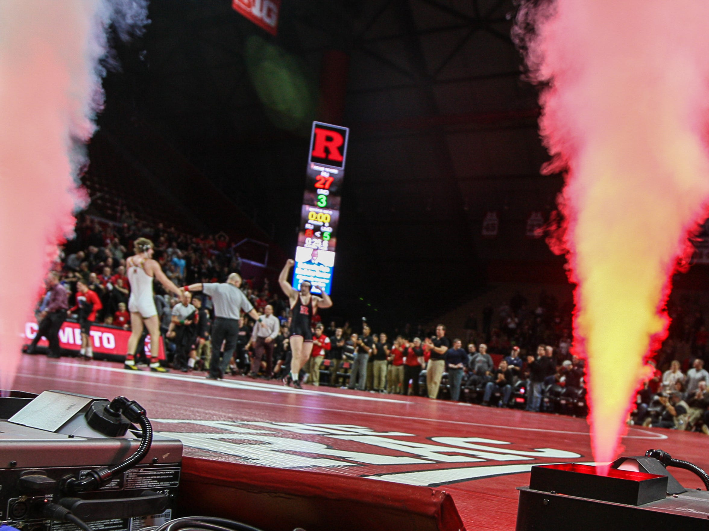 Rutgers wrestling has created a raucous home environment at the Rutgers Athletic Center since joining the Big Ten.