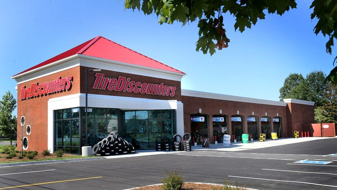 TireDiscounters is the newest tire store built on South Church. Photo taken on Wednesday, Aug. 26, 2015