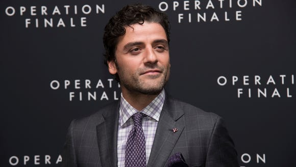 "Oscar Isaac, who stars in ""Operation Finale"" (in theaters"