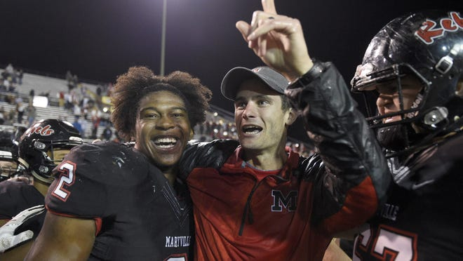 Maryville coach Derek Hunt was named the News Sentinel's 2017 football coach of the year.