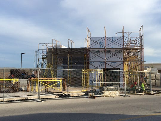Construction resumed recent on the Green Bay area's