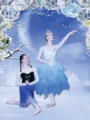 """Mississippi Metropolitan Ballet performs """"Frozen Heart: The Tale of the Snow Queen"""" Saturday and Sunday ."""