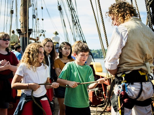 Education at Grays Harbor Historical Seaport.