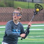 Sophomore Grace Dillon netted four goals to help spark Bloomfield Hills to a decisive 22-6 victory over visiting Troy in a first-round Division 1 playoff game Wednesday evening.