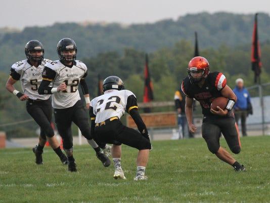 Conan Becker Northmor football