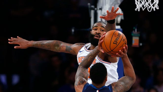 Kyle O'Quinn adds some defense and bulk to the Pacers' front line.
