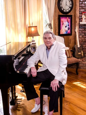 Jerry Lee Lewis at his Nesbit, Miss. ranch.