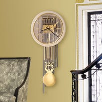 The Atwater Wall Clock by Howard Miller. COURTESY OF SIMPLY WALL CLOCKS