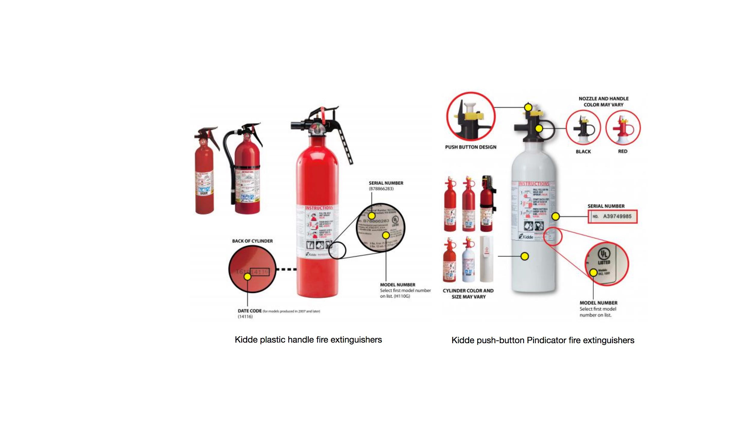 Kidde recall 40M fire extinguishers that may not work recalled