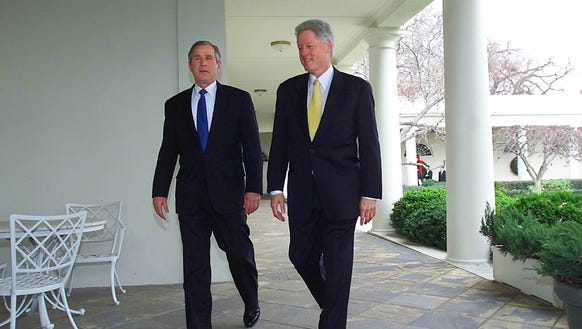 an evaluation of the 2000 us presidential battle between george w bush and al gore Clinton and trump side by side  president george w bush  generate a contrast similar to the one george w bush skillfully struck against al gore.