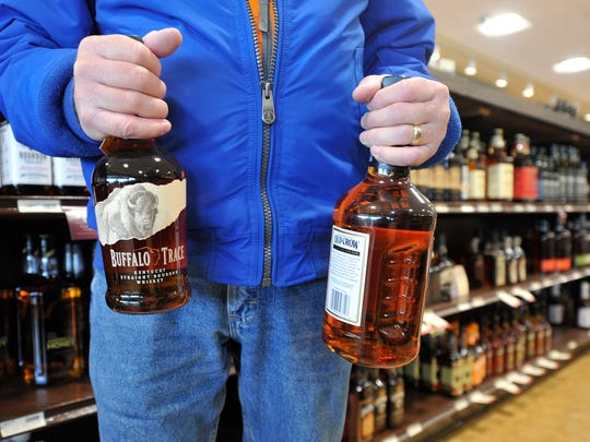 Dean Witmer  of York Township was buying alcohol for