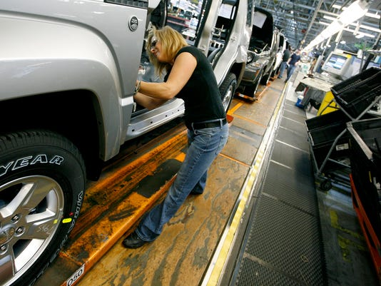 AP JEEP PLANT PART TIME WORKERS A F FILE USA OH