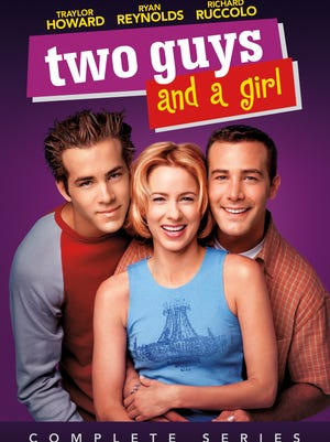 'Two Guys and a Girl,' which ran for four seasons, is fueled by the irresistible chemistry between Ryan Reynolds, Traylor Howard and Richard Ruccolo,