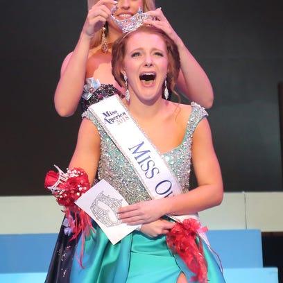 Matti-Lynn Chrisman was crowned as Miss Ohio 2018 by