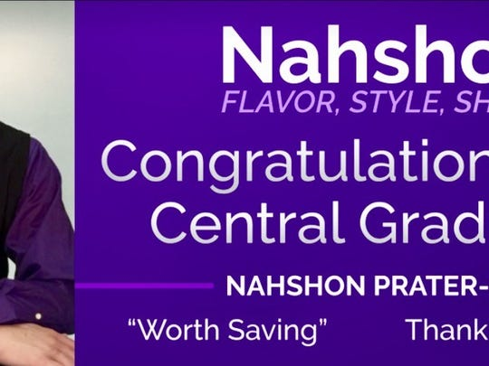 A copy of the billboard that will display of Nahshon Prater.