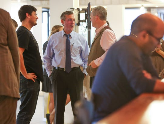 Gov. John Carney tours The Mill coworking space in