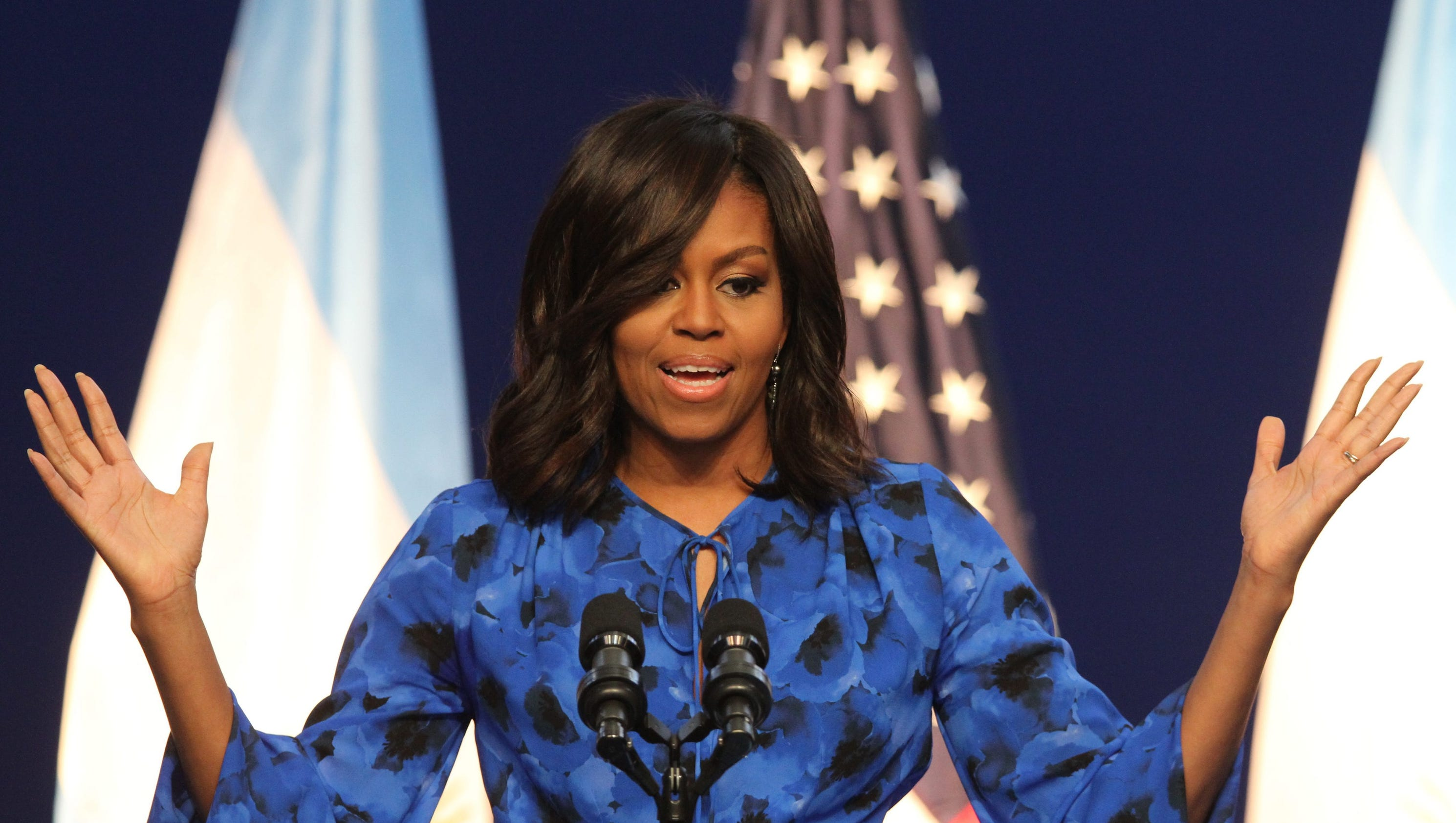 Blue City Morocco Michelle Obama Blunt On Indian Issues To Give