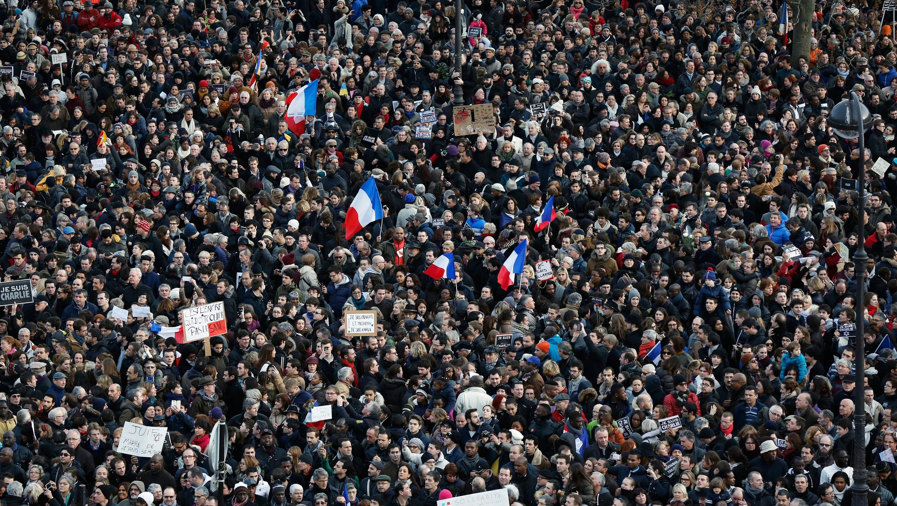 'Charlie' draws historic crowd, world leaders to Paris