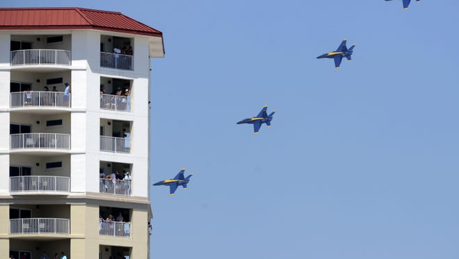 A Pensacola Beach Advocates survey revealed overwhelming support to continue Blue Angels weekend, preferably by tax increment financing.