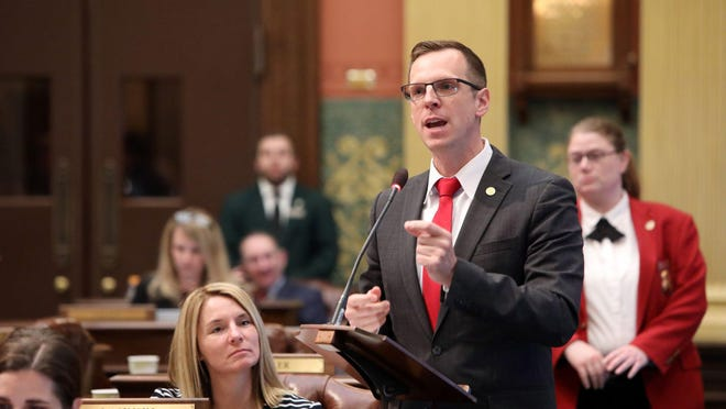 State Rep. Jon Hoadley, a Democrat from Kalamazoo, is running the Democratic primary for Michigan's Sixth Congressional District on Tuesday, Aug. 4. Hoadley believes he can work with members from both political parties to tackle issues.
