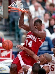 Antonio McDyess is Alabama's highest draft pick as