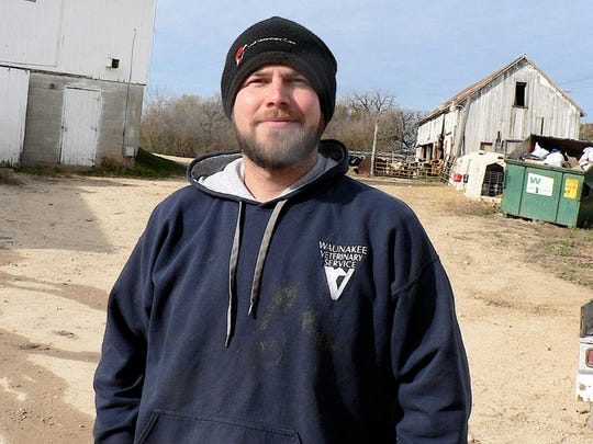 Joe Benish sees a big future ahead in farming.