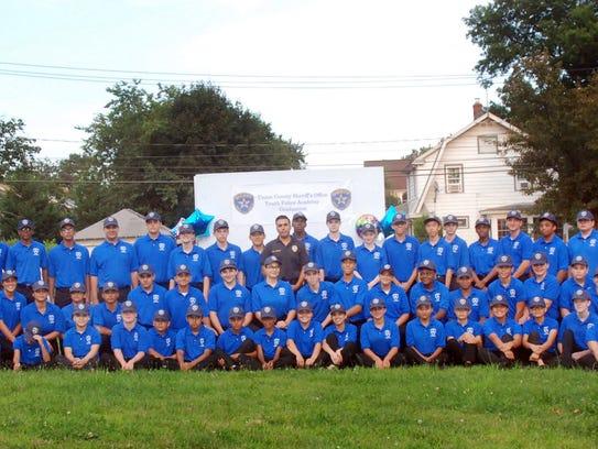 2017 Union County Sheriff's Youth Police Academy graduation