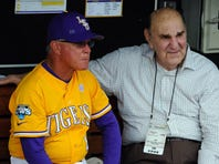 'Long overdue' statue for LSU legendary coach Skip Bertman unveiled at Alex Box Stadium
