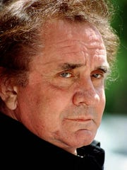Singer-songwriter Johnny Cash is shown in New York on June 3, 1994.