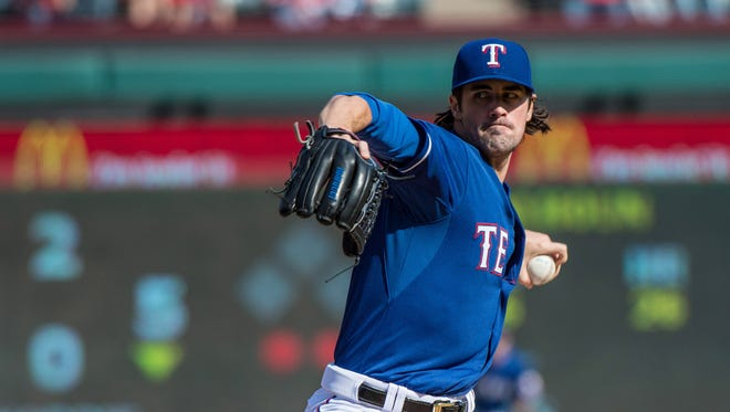 Cole Hamels was acquired at the trade deadline.